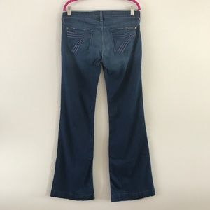 7 For All Mankind Dojo Trouser Dark Wash Jeans 30